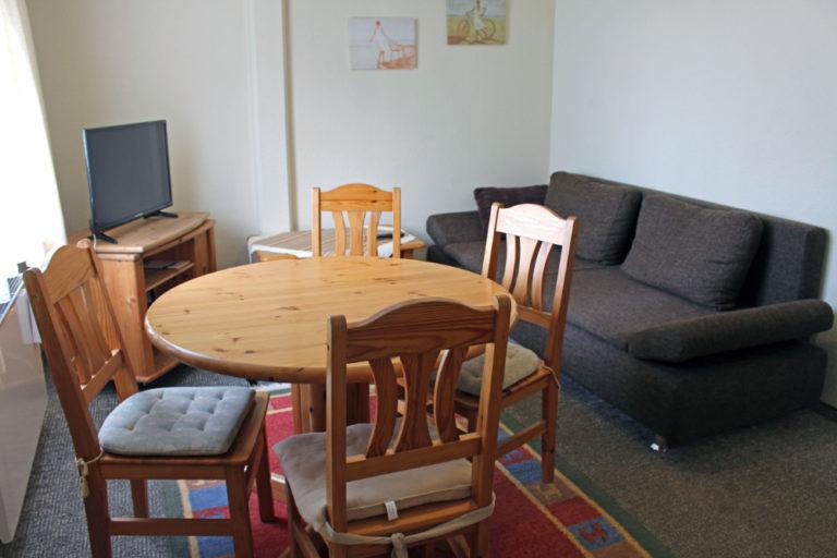 Wohnung 2 im Gästehaus (5 Personen, 32m²)