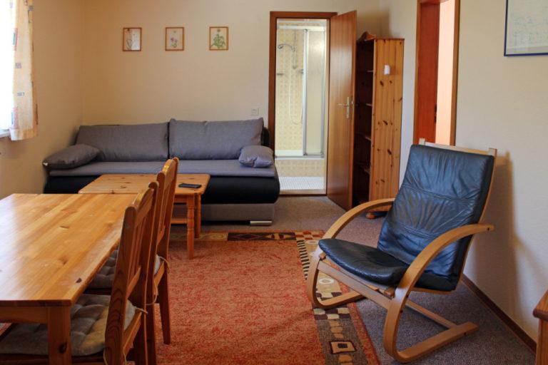Wohnung 8 im Gästehaus (5 Personen, 33m²)